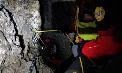 Bloccati in Grignetta: escursionisti salvati di notte dal Soccorso Alpino FOTO