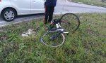 Ciclista investito a Garbagnate Monastero FOTO