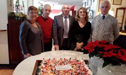 Anziani di Cisano, grande festa in compagnia