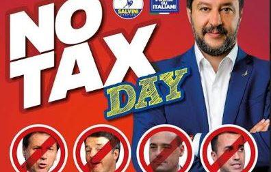 Lecco: domani la Lega lancia il No Tax Day