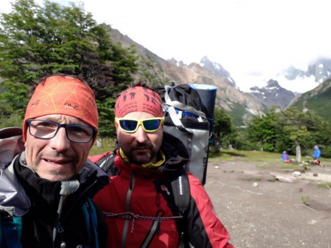 Panzeri in Patagonia ricordando Chiarlie e Lorenzo VIDEO