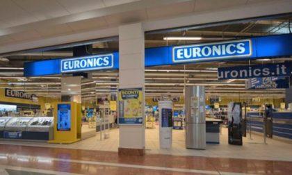 Euronics-Galimberti insolvente, a rischio 250 lavoratori