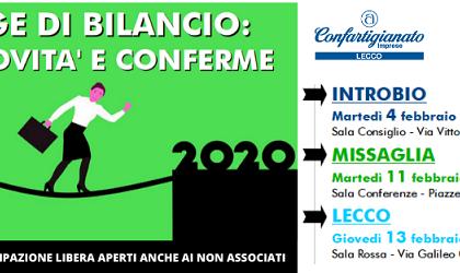 Legge di Bilancio 2020: tre incontri nel Lecchese per analizzarla