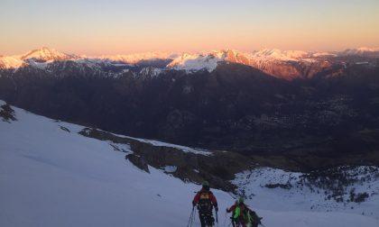 Bloccato in quota dal vento, escursionista soccorso in Grigna FOTO