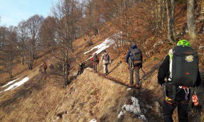 Solo ieri recuperati sei escursionisti in difficoltà, interviene il CNSAS
