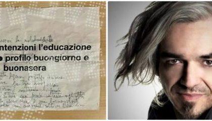 Morgan mette all'asta su Ebay il foglio col testo modificato del brano di Sanremo