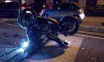 Motociclista travolto: 26enne in gravi condizioni FOTO