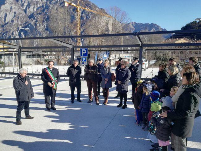 Valmadrera Inaugurazione nuovo parcheggio di Parè