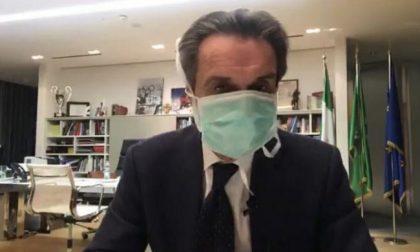 """Coronavirus, Fontana e il """"caso mascherina"""": """"Non per esibizionismo o allarmismo"""""""