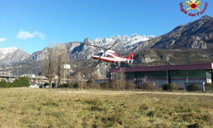 Aerosoccorso salva due dispersi sul Resegone