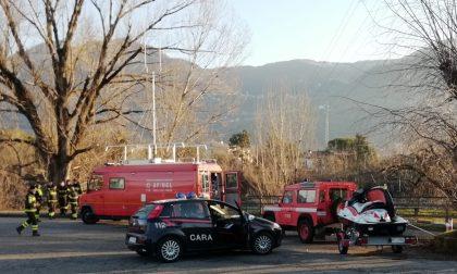 Tragedia: ritrovato senza vita il disperso nell'Adda FOTO