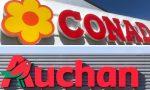 Conad-Auchan, cessione conclusa