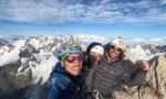 I Mattei ripetono in arrampicata libera la via del 40esimo dei Ragni all'Aguja Poincenot FOTO