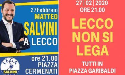 27 febbraio a Lecco, Sardine contro Salvini, Cermenati contro Garibaldi. Chi vincerà la sfida della piazza?