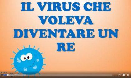 """""""Il virus che voleva diventare un re"""" la favola inventata per spiegare ai bimbi cosa è il Coronavirus VIDEO"""
