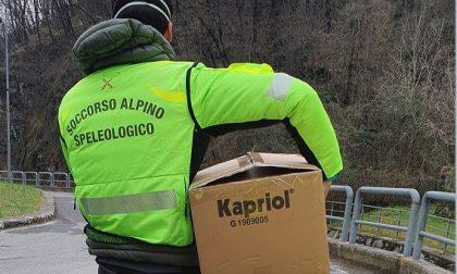 Coronavirus: il Soccorso Alpino in campo per impedire l'accesso a San Pietro al Monte