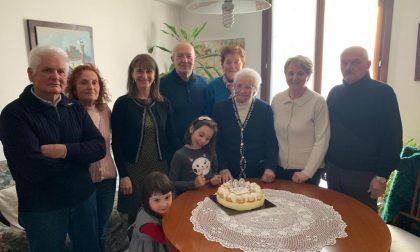 Nonna Olimpia Colombo: cent'anni e non sentirli