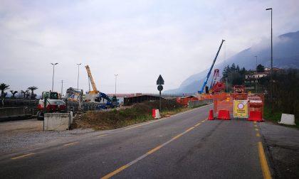 Ponte Isella, confermato per stanotte il varo