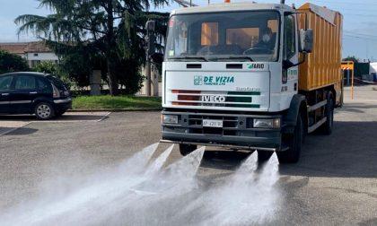 Da domani sanificazione di strade e luoghi pubblici