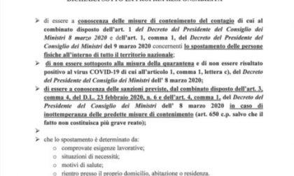 Coronavirus:  da FS Italiane un'App gratuita per compilare nuovo modulo di autocertificazione