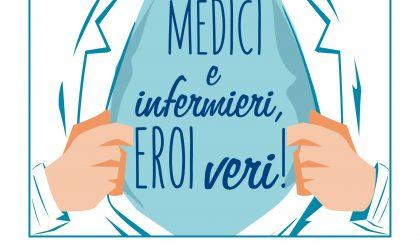 Medici e infermieri, eroi veri! Mandateci foto, disegni e messaggi