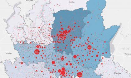 Coronavirus: nel Lecchese 287 casi positivi, cinquanta più di ieri