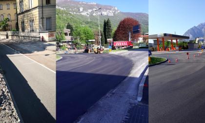 In attesa del 4 maggio qualcosa è ripartito… le asfaltature a Lecco