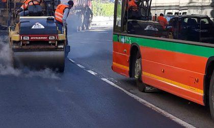 Al via dal 31 maggio i lavori di asfaltatura a Calolzio: si interviene di notte per ridurre al minimo i disagi