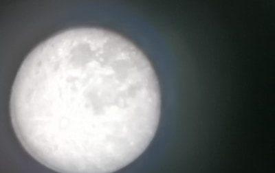 La superluna immortalata con il telescopio da un bimba di Lecco di soli 11 anni FOTO