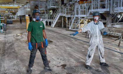 Cartiera dell'Adda: dipendenti e aziende a sostegno dell'emergenza