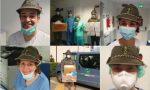In ospedale tutti con la penna nera per dire grazie agli alpini LE EMOZIONANTI FOTO