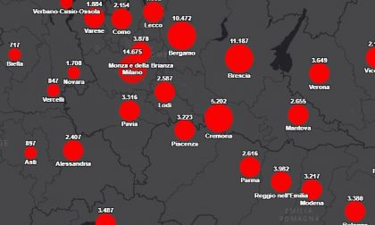 Rapporto tra residenti e contagiati, Lecco tra i territori più colpiti dal Coronavirus