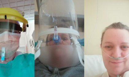 Coronavirus, dal lavoro in corsia in ospedale alla malattia e ora alla guarigione: la commovente storia di Marinella FOTO
