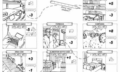 Che facciamo oggi? Il gioco da stampare e colorare in quarantena (e sulla quarantena)