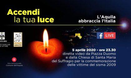 Un gesto di solidarietà nell'undicesimo anniversario del terremoto all'Aquila