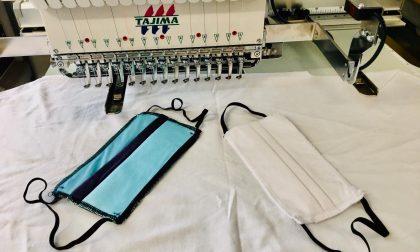Dalle T-shirt alle mascherine (blucelesti): Legea Lecco converte la produzione FOTO