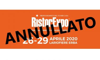 Ufficiale: la mostra Ristorexpo rimandata al 2021