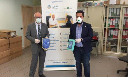 Il Rotary Lecco Le Grigne dona tablet alla clinica Mangioni per i pazienti Covid19 che non possono vedere i familiari