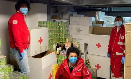 Soroptimist in campo per aiutare la Croce Rossa