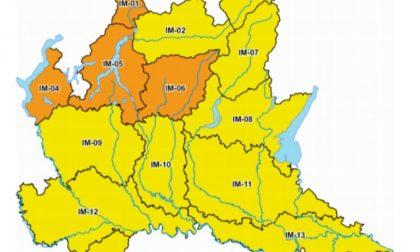 Rischio idrogeologico: scatta l'allerta meteo arancione nel Lecchese