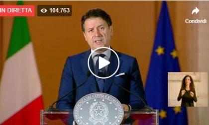 Tutte le novità ufficiali da lunedì IL PREMIER  GIUSEPPE CONTE IN DIRETTA VIDEO