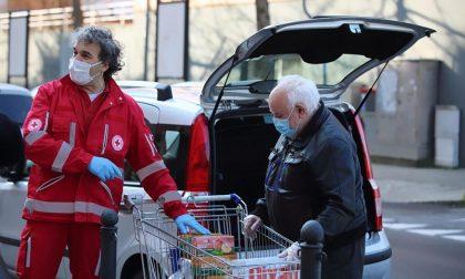 Raccolta alimentare con la Croce Rossa di Lecco