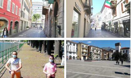 """Primo giorno della Fase 2: """"cartoline"""" dalla città di Lecco FOTO"""