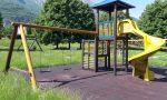 Valmadrera, ultimatati i lavori di manutenzione delle strutture giochi FOTO