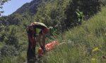 Caduta in montagna, soccorsa escursionista 71enne