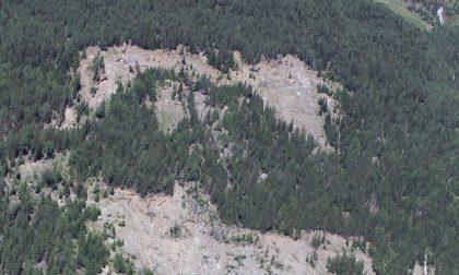 In Valtellina le forti piogge riattivano la frana del Ruinon