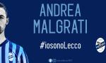 Il capitano Andrea Malgrati rinnova con la Calcio Lecco