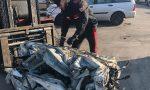 Auto di grossa cilindrata, motori e componentistica rubati: oltre 1.000 pezzi sequestrati FOTO