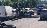 Tamponamento tra tre auto sulla Statale 36, traffico completamente bloccato FOTO