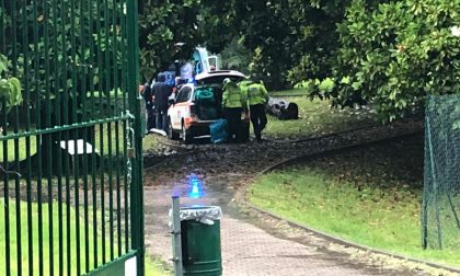 Tragedia nel Parco Belvedere, rivenuto il cadavere di un uomo FOTO